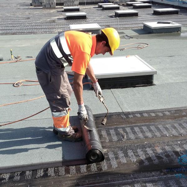Impermeabilización de cubierta DECK