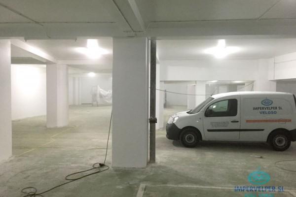 Pintado de parking subterraneo