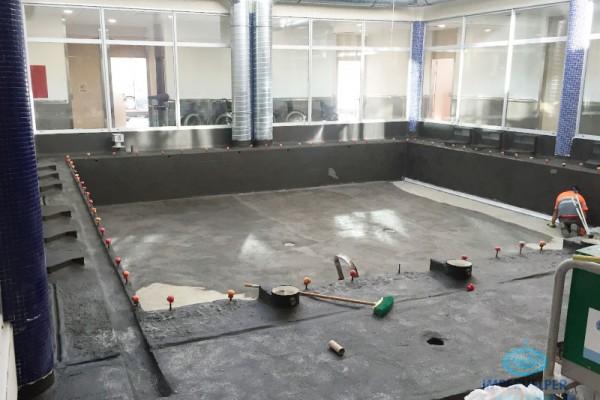 Impermeabilización piscina interior