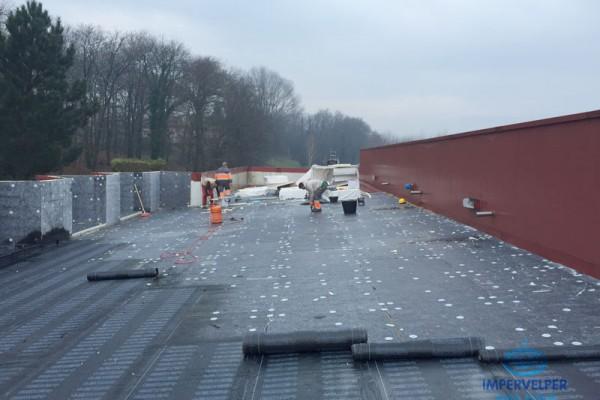 Impermeabilización y aislamiento de cubierta